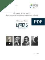 Mécanique statistique - Paris Sud