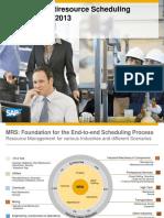 SAP-MRS Info Session - 2013