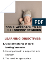 Approach to Ill Looking Child
