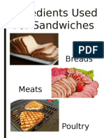 Summary Sandwiches