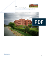 Final Internship Report of comsats