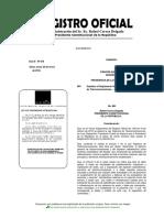 Reglamento General a La Ley Orgánica de Telecomunicaciones