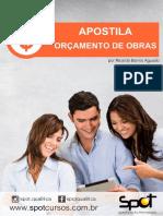 Apostila - Orçamento de Obras - Ricardo Aguado