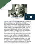 John Zmirak - The Generosity of Tolkien
