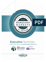 ArcView Marijuana Markets Executive Summary