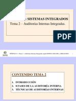 Auditorias Internas de Sistemas Integrados