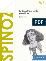 Spinoza - Joan Sole
