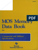 1984 MOS Memory Data Book