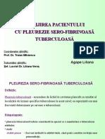 Agape Liliana - Pleurezia Sero-fibrinoasa Tuerculoas (2)