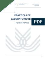 PRÁCTICAS DE LABORATORIO termodinamica