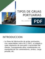 Tipos de Grúas Portuarias_Torres Preciado