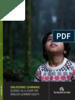 Unlocking Learning Report
