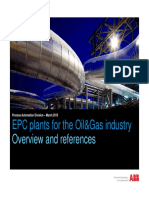 ABB EPC_General Presentation_March 15 EPC Plants for the Oil&Gas Industry