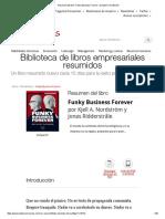 Resumen Del Libro 'Funky Business Forever', De Kjell A