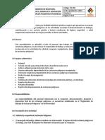 CP Procedimiento de Almacenamiento de SP en Bodegas