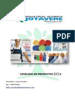 Catalogo de Productos - Precios - Jorge