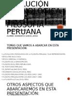 Actividad 2-Evolución Cronológica de La Filosofía Peruana