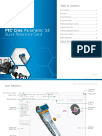 PTC Creo Parametric 3.0 Quick Reference Card