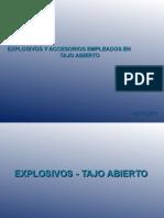 1 Explosivos Accesorios Tajo