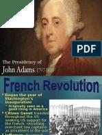 presidency of adams  1   2