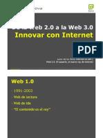 Ismael Nafria de la web 2.0  a la web 3.0