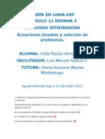 PizañaHernandez Celia M11S3 AI6 Ecuacioneslinealesysolución De