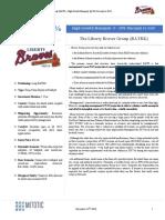 Liberty Braves BATRK - SumZero Contest Winner