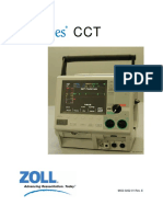 ZOLL M Series CCT Defibrillator Option Manual