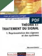 Théorie et Traitement du signal, tome 1 _ Représentation des signaux et des systèmes - Cours et exercices corrigés.pdf