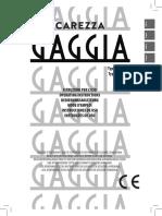 Gaggia Carezza Deluxe User Manual