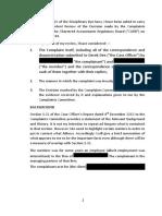 Ken Revie Westwater Advocates CARB Complaint Review