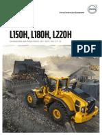 Brochure Chargeuses Volvo L150H L180H L220H | SOFEMAT