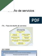 ITIL - Fase de Diseno de Servicios