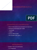 Numerisation Du PIA