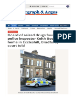 Hoard of Seized Drugs Found at Police Inspector Keith Boots's Home in Eccleshill_ Bradford_ Court Told (From Bradford Telegraph and Argus)-1