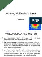 Tema 2 Átomos, Moléculas e Iones