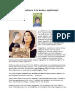 Detractors Ni Kris Aquino