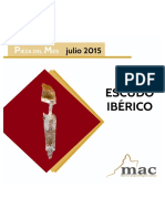 Pieza Del Mes - Escudo-iberico