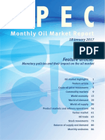 Monthly Oil Market Report January 2017