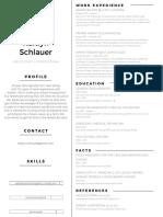 resume for slcc