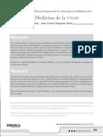 Automatización del procedimiento de generación de credenciales en las bibliotecas de la Facultad de Medicina