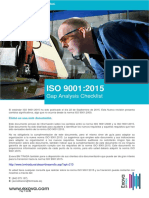Iso 90012015 Gap Analisis