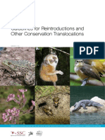 RSG ISSG Reintroduction Guidelines 2013