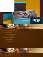Marketing PPT Case 5 Charles Chocolate