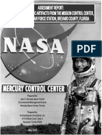 Mercury Control Center Historic Artifacts