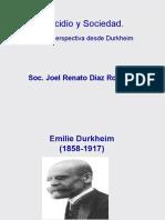 Suicidio y sociedad una perspectiva desde Durkheim