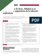 2005 La Radiografía de Tórax. Utilidad en El Diagnóstico y Seguimiento de La Infección Respiratoria