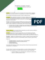RESUMEN Capitulo 1 y 2 - Pedrosa