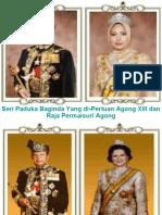 agong dan permaisurinya