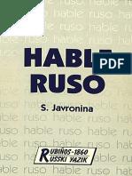 Javronina#Hable Ruso